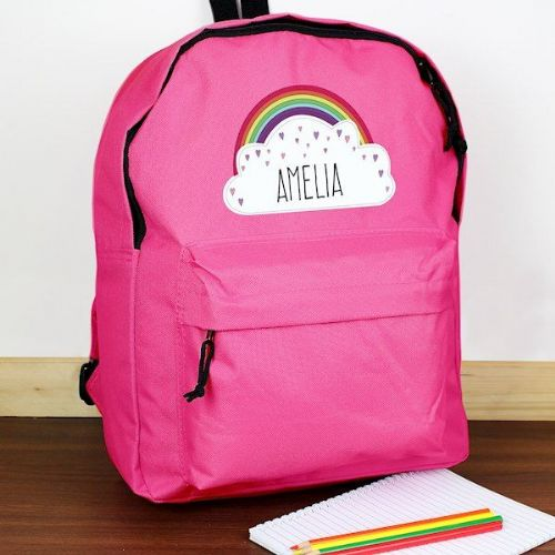 Rainbow Pink Backpack
